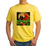 Birdfarm Yellow T-Shirt