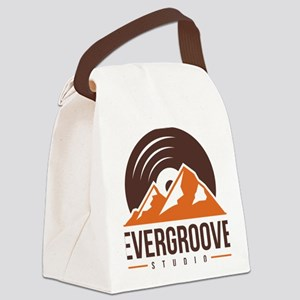 Evergroove Logo  Canvas Lunch Bag