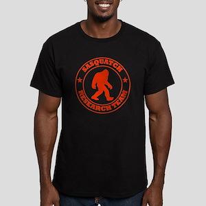 sasquatch research tea Men's Fitted T-Shirt (dark)