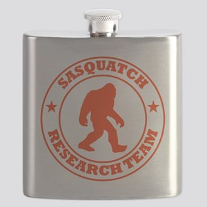 sasquatch research team red Flask