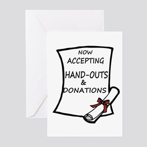 Graduation Handouts Greeting Cards (Pk of 10)