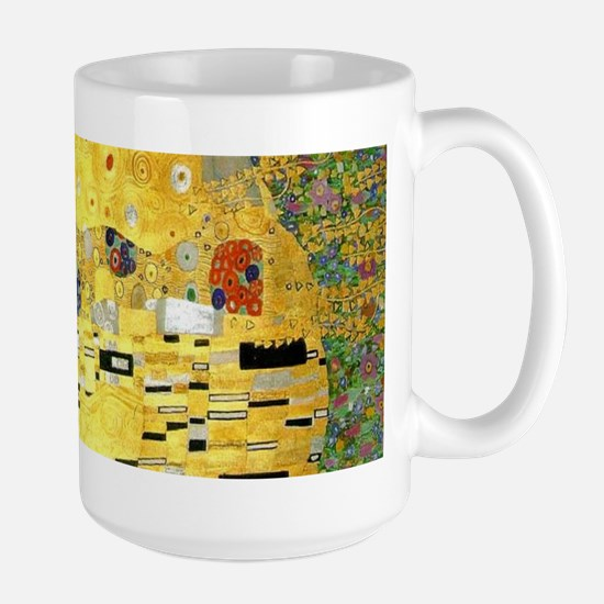 Klimt Kiss Wraparound Large Mug