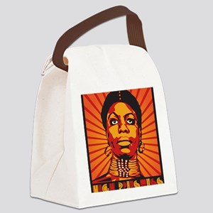 High Priestess of Soul Framed Pri Canvas Lunch Bag