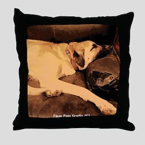 Anatolian Couch Potato Throw Pillow