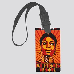 High Priestess of Soul Nook Large Luggage Tag