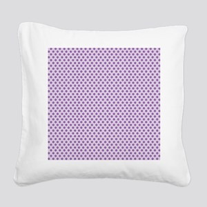 dot Square Canvas Pillow