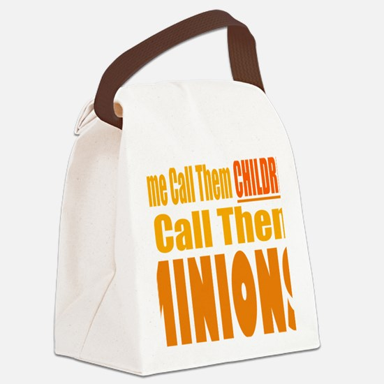 I Call Them Minions Canvas Lunch Bag