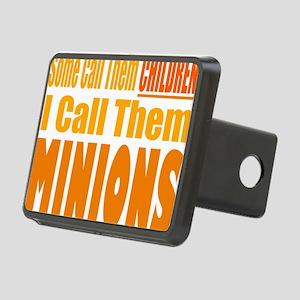 I Call Them Minions Rectangular Hitch Cover