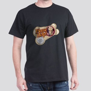 Please Help Greyhounds Dark T-Shirt