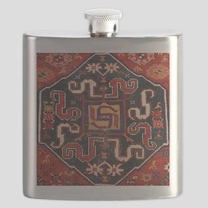 Cloudband Rug Medallion Flask