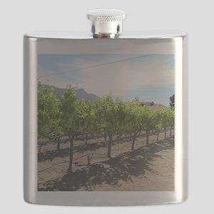 Winery in California Flask