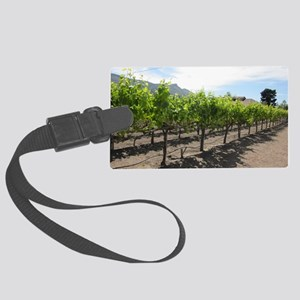Winery in California Large Luggage Tag