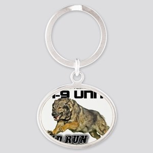 Support you local K9 Unit Oval Keychain