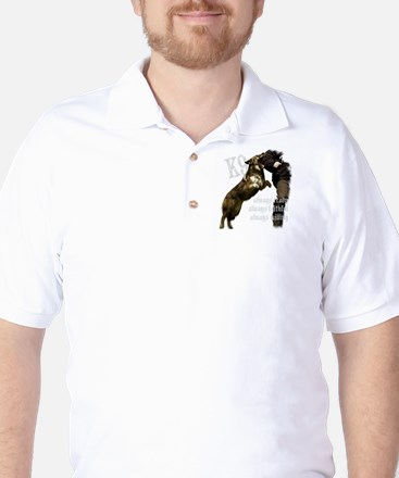 K9 Always ready Golf Shirt