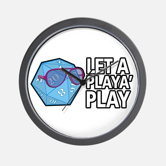D20 Playa Wall Clock