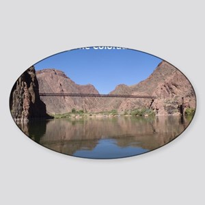 Kaibab Suspension Bridge Sticker (Oval)