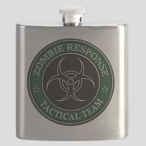 Zombies! (ZRTT Green/White) Flask