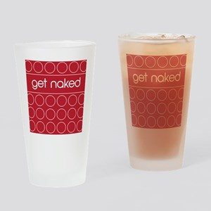 red dot Drinking Glass
