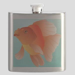 red ryukin magnet Flask