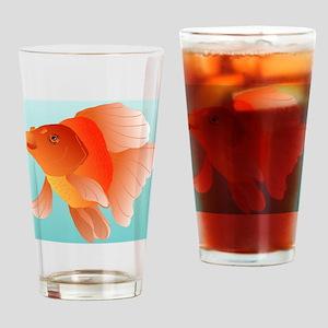 red ryukin magnet Drinking Glass