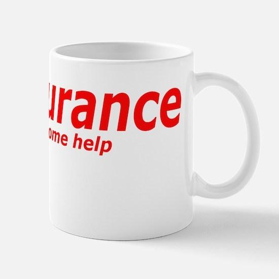 Person come help Mug