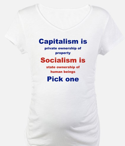 CAPITALISM IS... SOCIALISM IS... Shirt