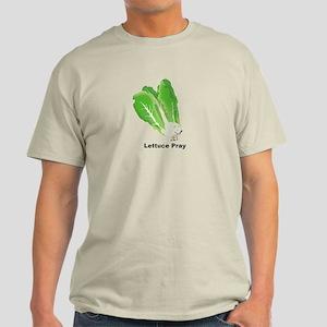 Lettuce Pray Men's Light T-Shirt