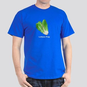 Lettuce Pray Men's Dark T-Shirt