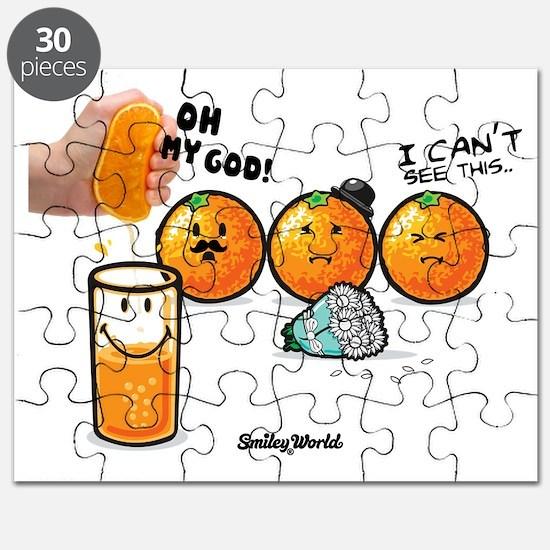 orange smiley Puzzle