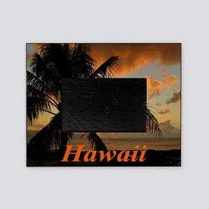 Sunset North Shore Oahu Picture Frame