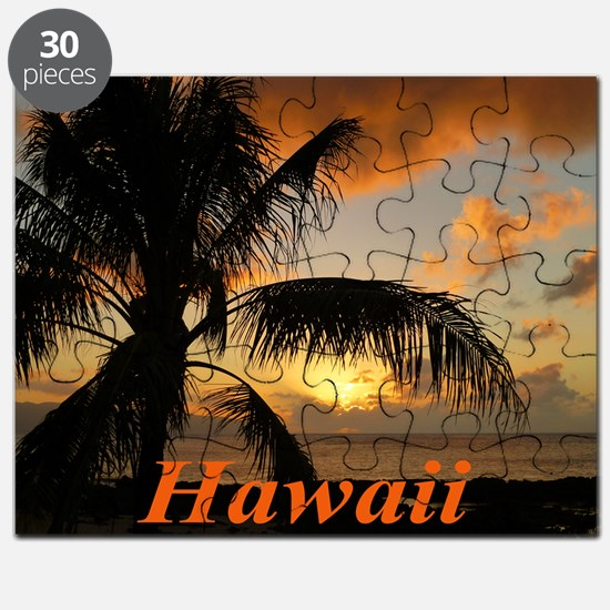 Sunset North Shore Oahu Puzzle