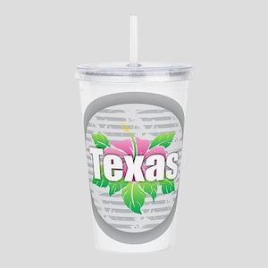 Texas Hibiscus Acrylic Double-wall Tumbler