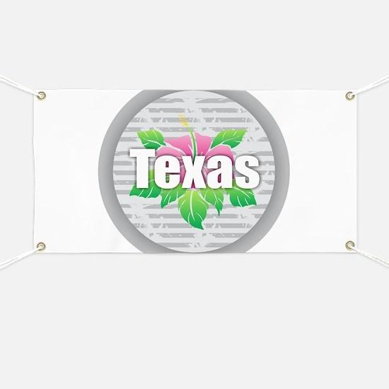Texas Hibiscus Banner