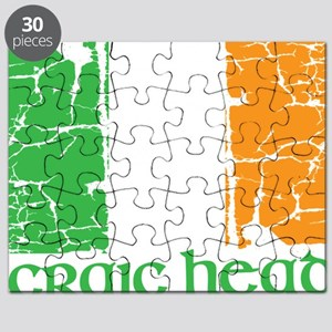 irish flag craic head st. patrick's day Puzzle