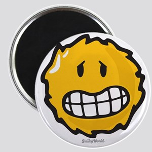 frazzled smiley Magnet