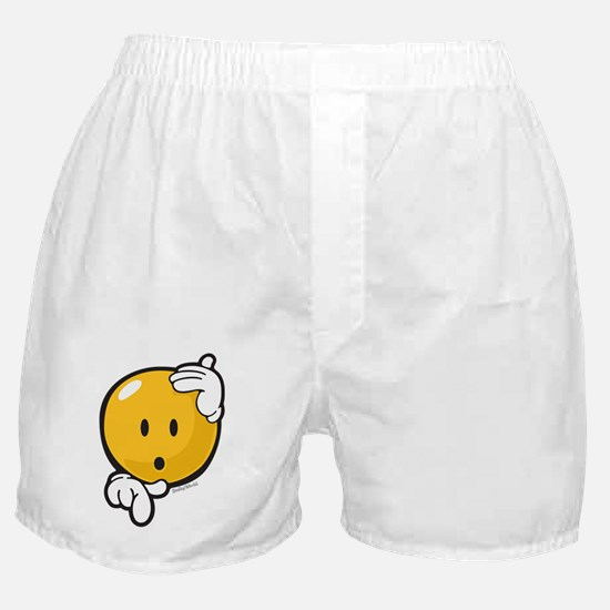Hesitation Smiley Boxer Shorts