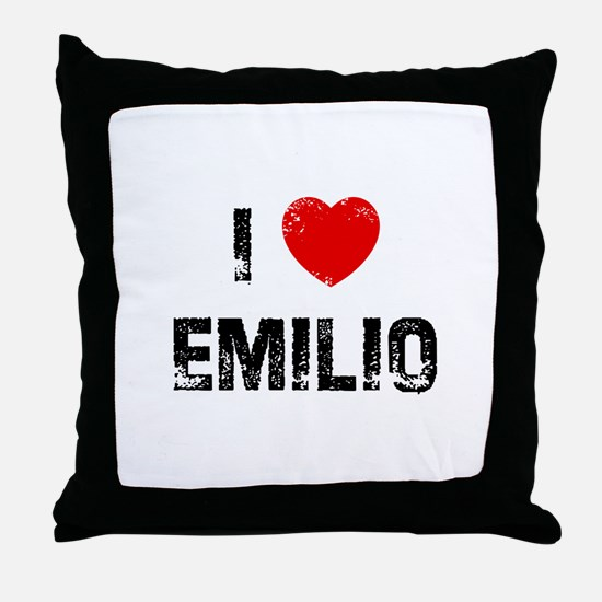 I * Emilio Throw Pillow