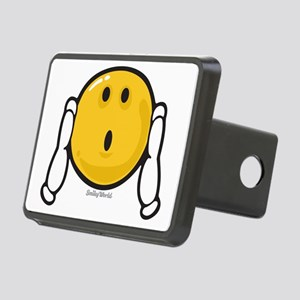 Shock Smiley Rectangular Hitch Cover