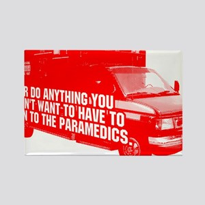 Paramedics Rectangle Magnet