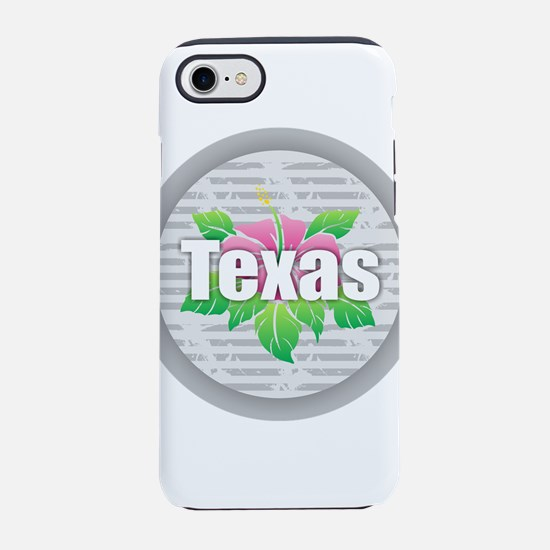 Texas Hibiscus iPhone 7 Tough Case