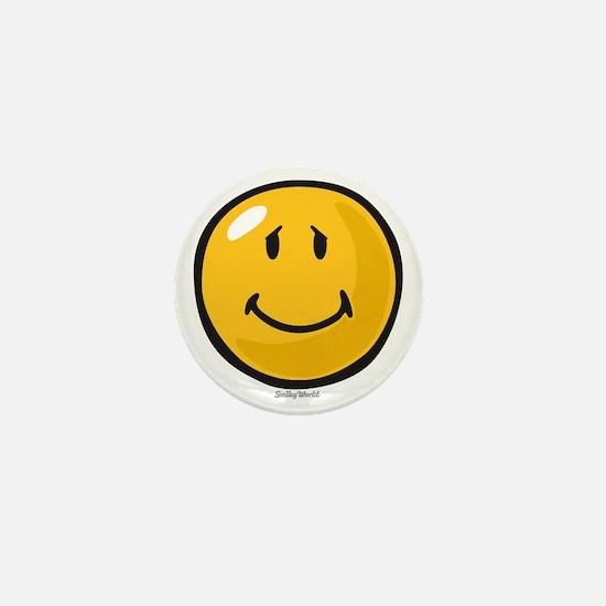 brave face Mini Button
