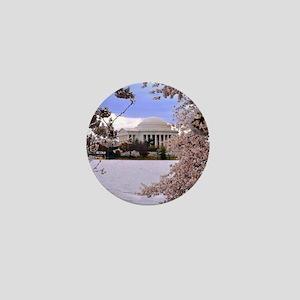 Thomas Jefferson Memorial 3 square Mini Button