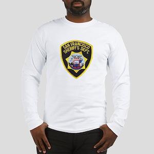 San Francisco Sheriff Long Sleeve T-Shirt