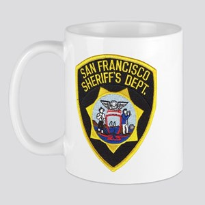San Francisco Sheriff Mug