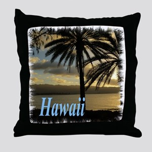 Sunset Haleiwa, Oahu Throw Pillow