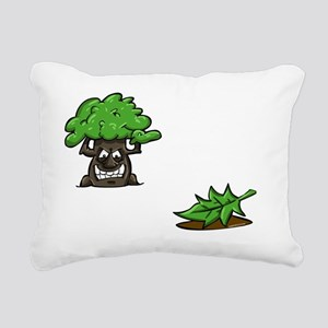 Make like a tree and.. L Rectangular Canvas Pillow