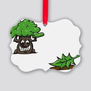 Make like a tree and.. LEAVE! Picture Ornament