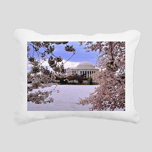 TJ Memorial 3 9X12 Rectangular Canvas Pillow