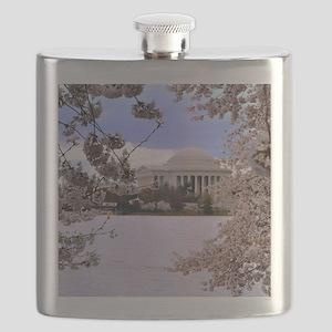 TJ Memorial 3 9X12 Flask