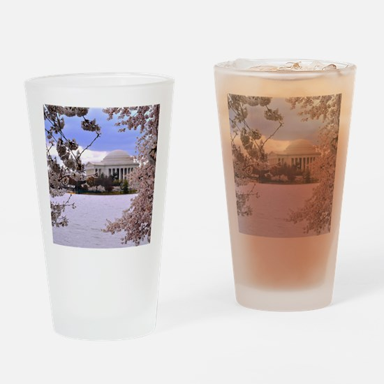 TJ Memorial 3 9X12 Drinking Glass